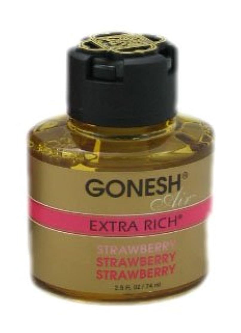 飼料概して漏れガーネッシュ(GONESH) リキッドエアフレッシュナー ストロベリー 74ml