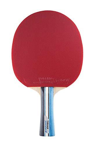 Tibhar Tischtennisschläger Powercarbon XT neu – Allround- und Offensiv TT-Schläger mit ITTF Wettkampfzulassung - blau