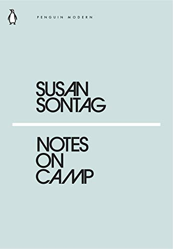 SUSAN SONTAG NOTES ON CAMP /ANGLAIS (PENGUIN CLASSIC)