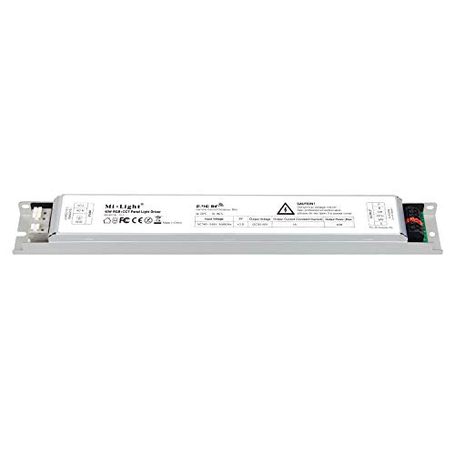LIGHTEU, Milight Miboxer 40W RGBCCT Driver luce LED, Alimentatore pannello LED, Plafoniera, Pannello luminoso, PL5