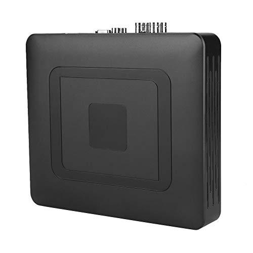 Demeras Sicherheits-CCTV-Rekorder 4-Kanal 4CH-Sicherheit CCTV AHD/CVI/TVI/DVR/NVR 5-in-1-Echtzeit-Videorecorder 100-240V(100-240V EU)
