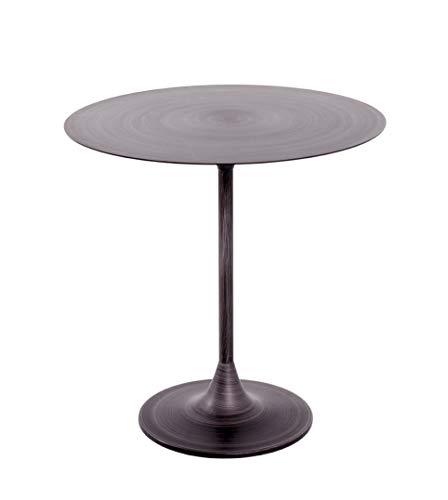HAKU Möbel Beistelltisch, Metall, schwarz, Ø: 45 x 47 cm