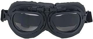 ETbotu Pratico da Moto Occhiali Stile retr/ò Anti-Vento Anti-Sand Occhiali