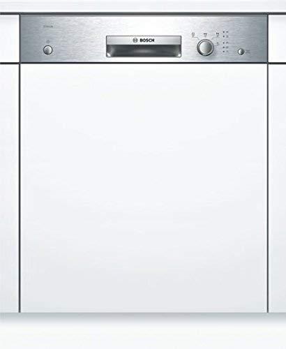 Bosch SMI24AS00E Serie 2 Geschirrspüler Teilintegriert / A+ / 60 cm / Edelstahl / 290 kWh/Jahr / 12 MGD / Silence / VarioBesteckkorb