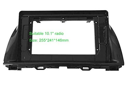 Hermoso Audio de automóvil Audio 10.1 Pulgadas Pantalla Grande FASTICA Adaptador Ajuste para Mazda CX-5 2DIN DVD Player Dash Pantalla de Ajuste de Audio Kit de Marco