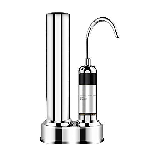 BALALALA Wasserfilter, Haushaltswasser Filter Hochwertige Einrohr Küche Reines Wasser Wasserfilter Wasserhahn Vorfilter