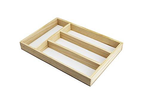 Wagtail Bandeja para Cubertería - Organizador de Cubiertos - Divisor Cajones de Cocina.