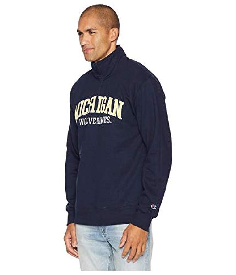 うまれた万歳カウントアップChampion College Michigan Wolverines Powerblend? 1/4 Zip 服 【並行輸入品】