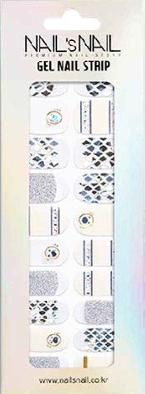 彼らの限り貨物\貼るジェルネイル/Nail's Nail(ネイルスネイル) ジェルネイルストリップ 106
