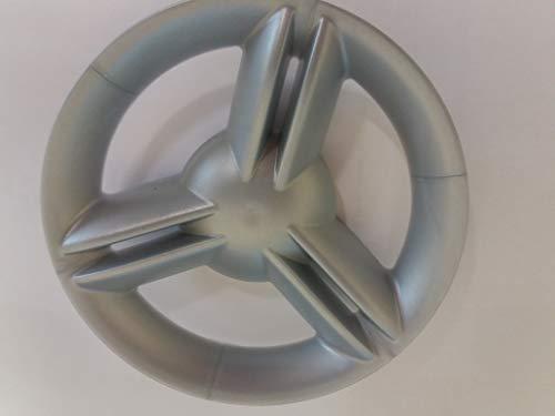 B Llanta Fulda compatible con neumáticos grandes como Fulda o Porsche – Precio por pieza (juguete) (plata)