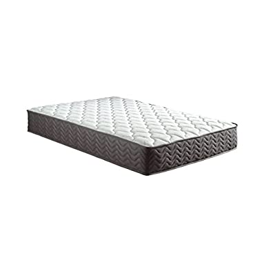 Swiss Ortho Sleep, 12  Inch Certified Independently & Individually Wrapped Pocketed Encased Coil Pocket Spring Contour Mattress (Queen)