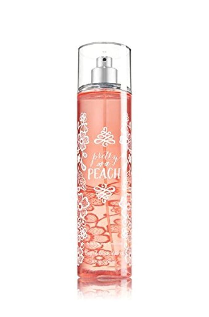 集団弾丸急性【Bath&Body Works/バス&ボディワークス】 ファインフレグランスミスト プリティーアズアピーチ Fine Fragrance Mist Pretty As A Peach 8oz (236ml) [並行輸入品]