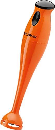 Bomann 603848 Batidora de mano, 180 W, color naranja