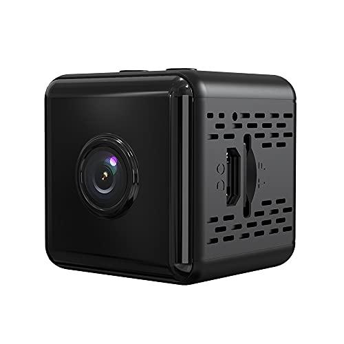 GAOYUAN Mini Cámara Inalámbrica HD 1080P IP WIFI Cámara de Visión Nocturna de Sensor Pequeño Seguridad en El Hogar DVR Visión Nocturna Grabadora de Vídeo para Grabar Buena Vida
