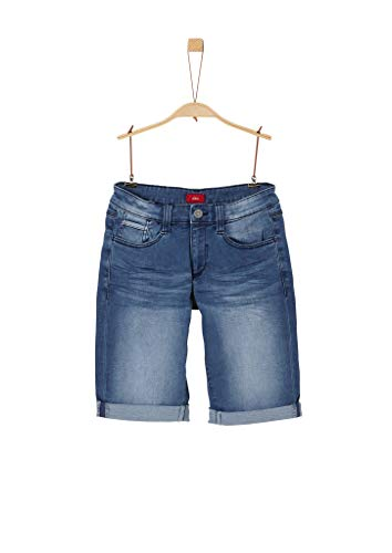 s.Oliver Junior Jungen Bermuda Bermudas, 56Z4 Blue Denim Stretch, 176 /Big