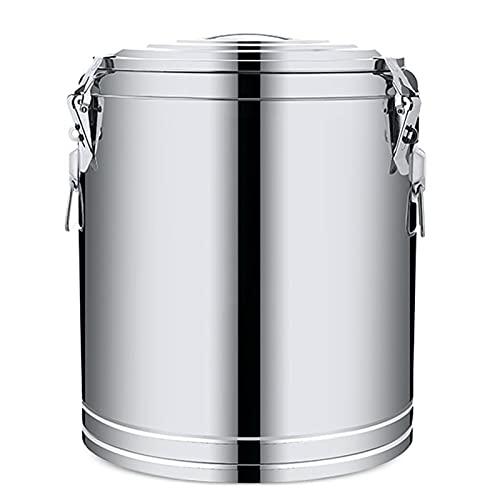 WKDZ Jarra de leche de acero inoxidable para alimentos sellados en barril, fermentador de cerveza para el hogar (tamaño: 14,7 L)