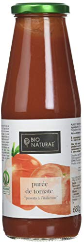 Bionaturae Passata Purée de Tomate Grand Format Bio 680 g