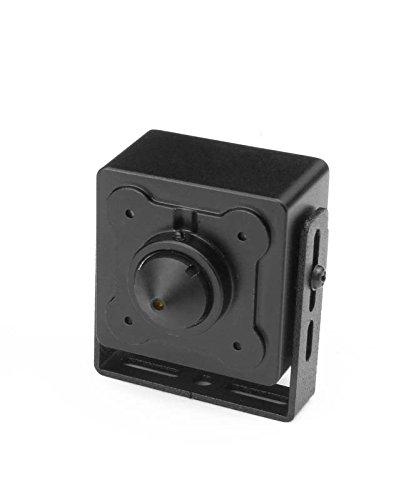 LUPUSCAM LE 105HD HDTV minicamera, 3x3cm, onopvallende kubus-camera met 720p resolutie (1280x720 pixel), HDCVI, BNC-aansluiting, incl. 12V voeding