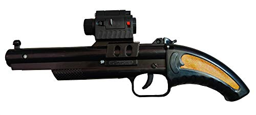 flashtrade Diwali Toy Gun Pistol for Kids Safe and Durable Include Laser Light red Point and Blue Light Area wash ( Age Group use 5 to 18 Years Old )