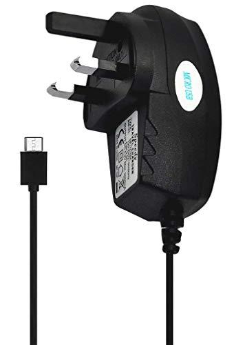 KP TECHNOLOGY Cargador para Vivo Y20s Micro USB Pin Cargador Adaptador (NEGRO)