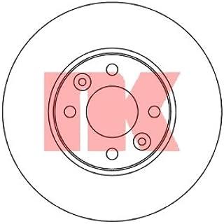 Suchergebnis Auf Für Auto Bremsscheiben Nk Bremsscheiben Bremsen Auto Motorrad
