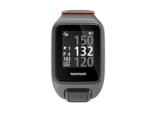 Tomtom Golfer 2 Special Edition GPS Watch- Reloj de Golf, Gris (Grey/Orange), L