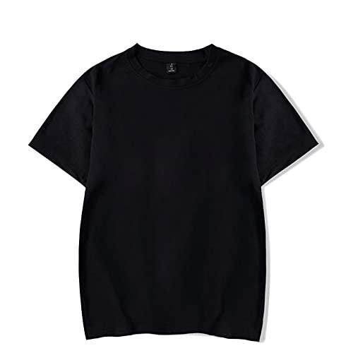 Camiseta de Manga Corta Camisa 3D Camiseta Regular con Estampado De Cara Sally, Divertida Camiseta De Algodón De Manga Corta para Mujer, Moda De Verano, Manga Corta Informal para N