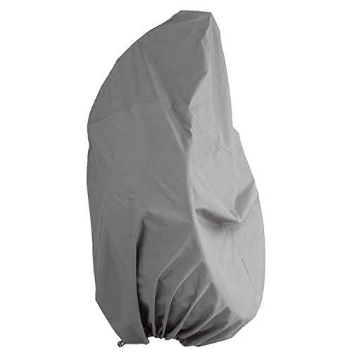 JOYIAL - Coprisedia sospeso in tessuto Oxford 420D resistente agli strappi e interno rivestito in PVC, colore: grigio