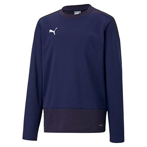 Puma Kinder teamGOAL 23 Training Sweat Jr Trainingssweatshirt, Peacoat New Navy, 164