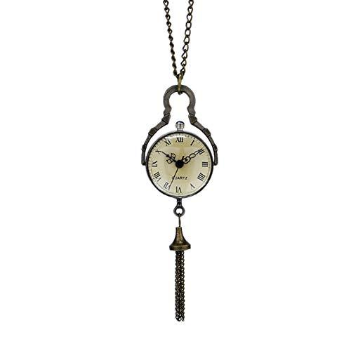Retro orologio da tasca grande palla di vetro Bull occhio orologio da polso uomo Gift–Jlyshop