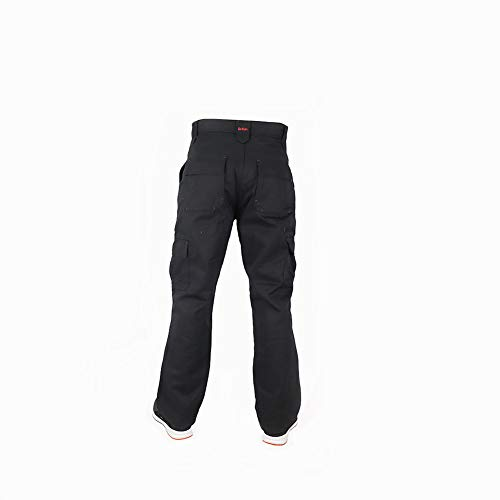 Lee Cooper Men's Cargo Trouser – schwarz -30W/29S - 3