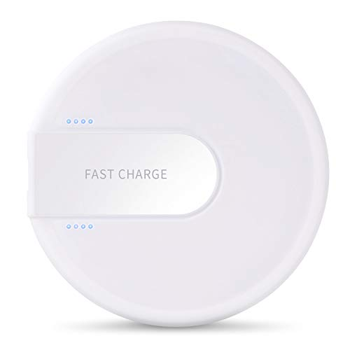 XLTOK Cargador Inalámbrico Rápido 10W, Fast Wireless Charger para iP