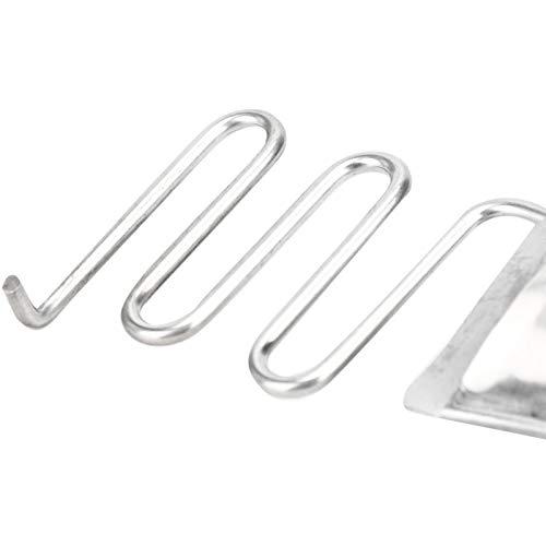 Hemmer Folder, Hochwertiger Metall Curve Edge Binder, Kleider Schulvorhänge Chiffon Tagesdecken Röcke für Zuhause(Entrance 36MM)