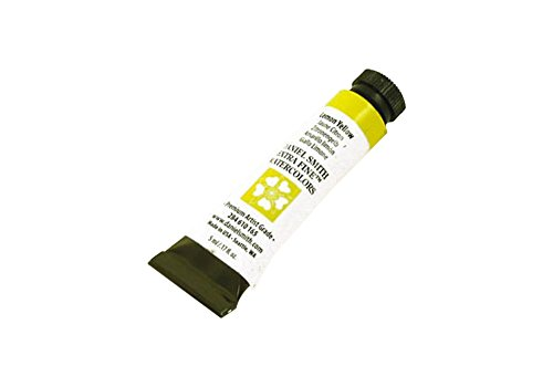 DANIEL SMITH 284610165 Extra Fine Watercolors Tube, 5ml, Lemon Yellow