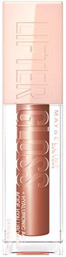 Maybelline New York Lifter Gloss, Nr. 007 Amber, Lipgloss mit Hyaluronsäure- 330 Innovator, 5.4 milliliter