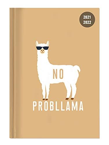 Alpha Edition - Diario Agenda Scuola Collegetimer 2021/2022, Giornaliera, 15x21 cm. Llama, 352 pagine