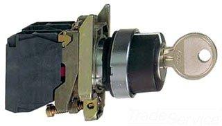 SCHNEIDER ELECTRIC XB4BG33 - Interruptor selector (600 V, 1,2 A, B4)