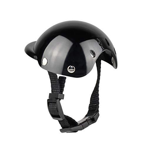 PetPhindU Hundehelm, Schutzhelm, Einfarbig Verstellbarer Hut Zubehör für Hunde
