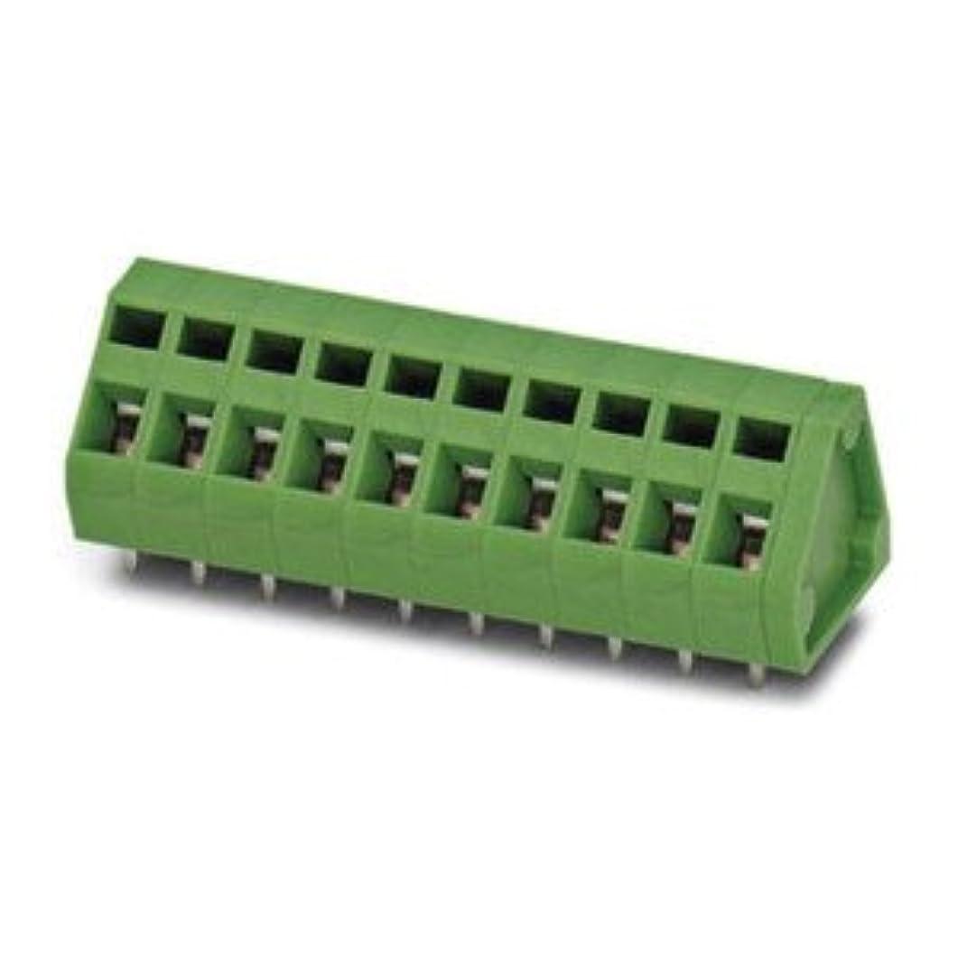 ファックス鮫ジョージエリオットPhoenix Contact 基板用端子台 5.08mmピッチ 19極 緑 1991668