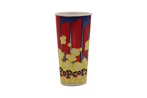 Buy Cheap Beach City Wholesalers Popcorn Tubs Red & Blue 24 oz (1,000 count)