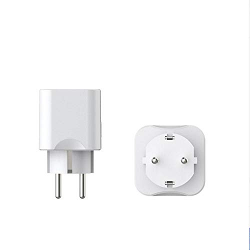 Enchufe Inteligente Smart Plug Wifi Ac100-240v Wi-Fi Smart Socket Plug compatibile con Amazon Alexa e Google