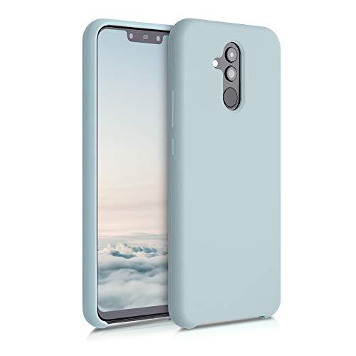 kwmobile Hülle kompatibel mit Huawei Mate 20 Lite - Hülle Handyhülle gummiert - Handy Hülle in Frosty Mint