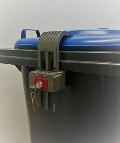 Mülltonnenverschluss KLM, gleichschließend