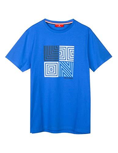 Lion of Porches Camiseta Azul S