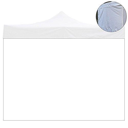 EverGreen Telo laterale 6x2mt PVC bianco impermeabile per gazebo 3x6mt 9012/2