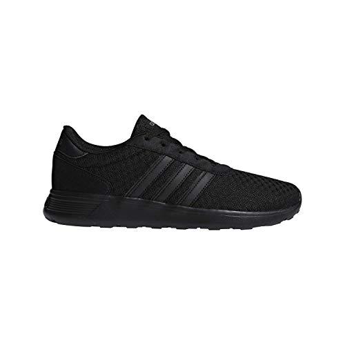 10 - adidas Lite Racer Running Shoe, Black/Grey, 11 M US