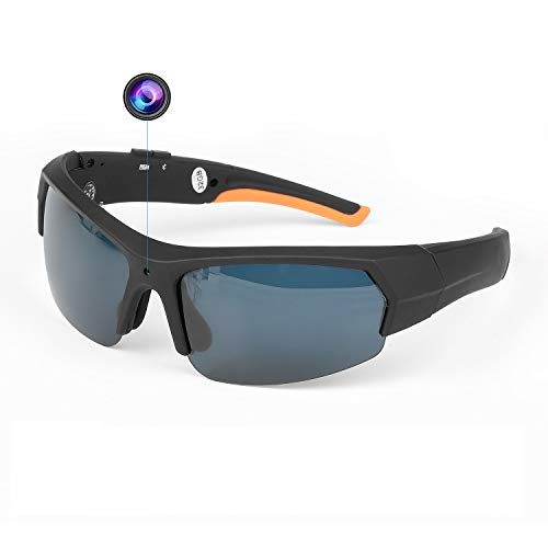 Bluetooth Sunglasses Camera Full HD 1080P Video Recorder Camera with UV Protection Polarized Lens, Outdoor Sports Camera