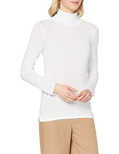 Naf Naf Owinter T1 Camiseta, Ecru 333, XS para Mujer