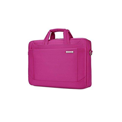 Laptoptasche (13/14/15/17) mit Einstellbar Riemen Für Acer / Asus / Dell / Fujitsu / Lenovo / HP / Samsung / Sony / Toshiba Computer , Pink , 17 inches