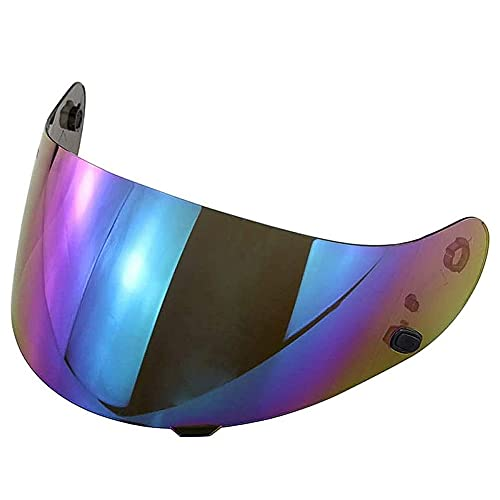 DragonPad Motorcycle Helmet Lens, for HJC CL-16 CL-17 CL-ST CL-SP CS-R1 CS-R2 Lens Replacement Helmet Face Shield Colorful